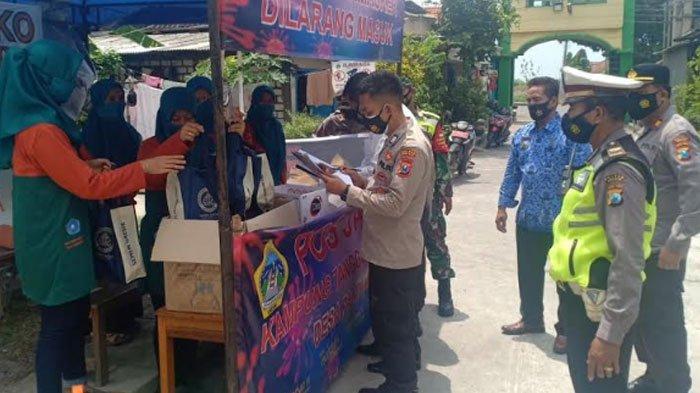 Polres Gresik Gelar Lomba Kampung Tangguh Semeru, Dorong Semangat Masyarakat Hadapi Covid-19