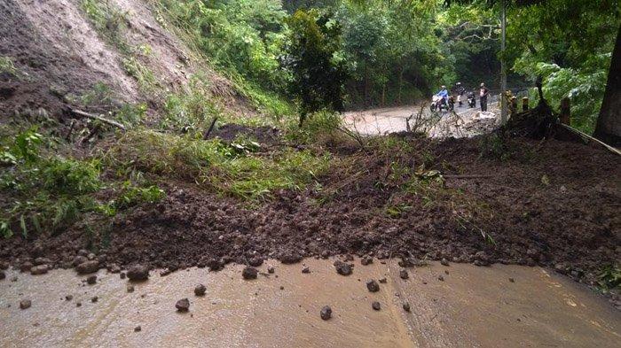 Longsor Susulan Terjadi di Kawasan Payung, Jalur Kota Batu-Kecamatan Pujon Terputus