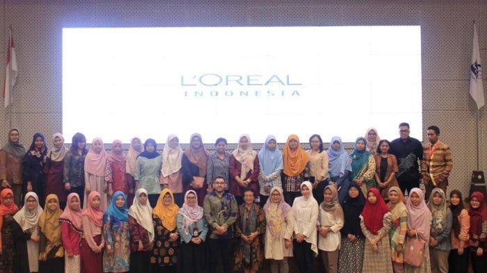 Gandeng ITS, L'Oréal -UNESCO Beri Beasiswa Pada Perempuan Peneliti Berbakat, di Bidang Sciences