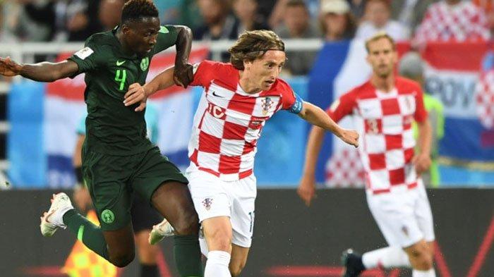 Kroasia Vs Nigeria, Diwarnai Gol Bunuh Diri dan Tembakan Penalti, Kroasia Bungkam Nigeria 2-0