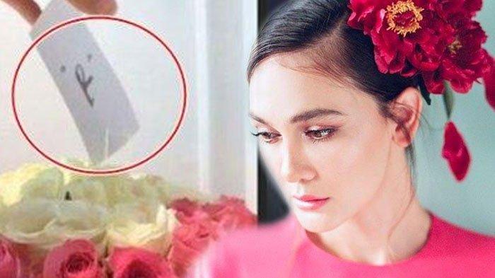 Luna Maya Dapat Karangan Bunga Mawar dari Inisial 'R' saat Perayaan Ultah ke-36: Thank You