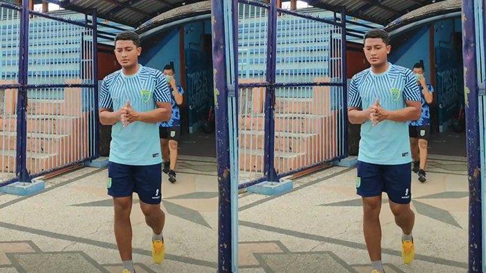 Hengkang dari Persebaya, M Nasir Terlihat di Latihan Perdana Persela Hari Ini