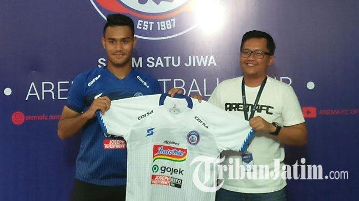 M Rafli  Bakal Absen Lawan Bali United dan PSIS Semarang, Penyebabnya ini