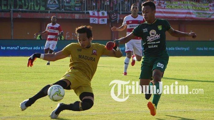Tetapkan Empat Kiper, Madura United Pastikan Tak Ada Nama Baru di Posisi Penjaga Gawang