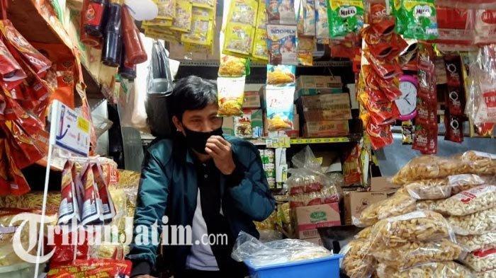 Pasar Wonokromo Tetap Buka Meski PSBB Surabaya, Kondisinya Sepi, Omzet Pedagang Turun 80 Persen