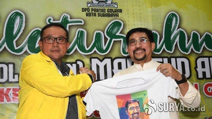 Golkar Usulkan 2 Nama Pendamping Machfud Arifin di Pilkada Surabaya 2020, Pengurus Jatim Ikut Kawal