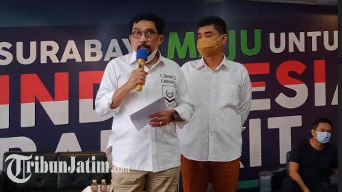 Machfud Arifin Doakan Surabaya Lebih Maju Dibawah Kepemipinan Eri Cahyadi-Armuji: Salam Sehat!