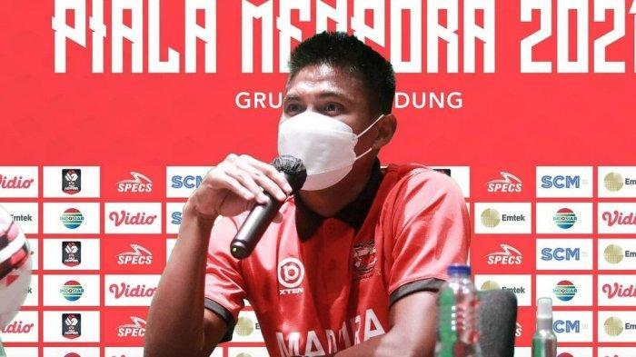 BRI Liga 1 2021 - Bertemu Lawan Berat, Kapten Madura United Bertekad Raih Hasil Terbaik