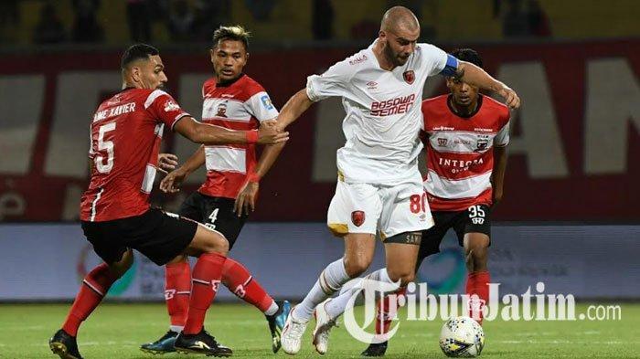 Madura United Vs PSM Makassar, Minus Dua Pemain, Dejan Antonic Minta Skuatnya Lebih Disiplin