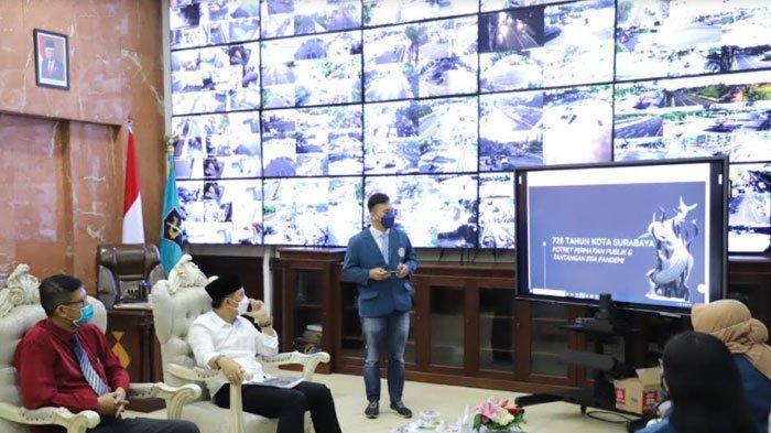 Survei MM Unair: 80 Persen Warga Surabaya Puas di 100 Hari Wali Kota Eri Cahyadi