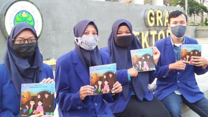 Mahasiswa UM Bikin Buku Cerita Anak Berbasis AR, Kenalkan Aneka Budaya Lokal Malang