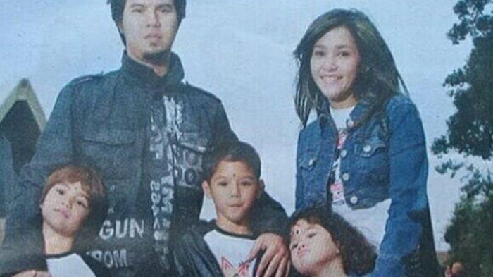 Maia Estianty dan Ahmad Dhani masa lalu bersama tiga anak laki-laki mereka