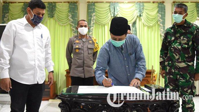Pemkot Kediri Keluarkan Maklumat yang Meminta Masyarakat Tak Gelar Salat Idulfitri Jamaah di Masjid