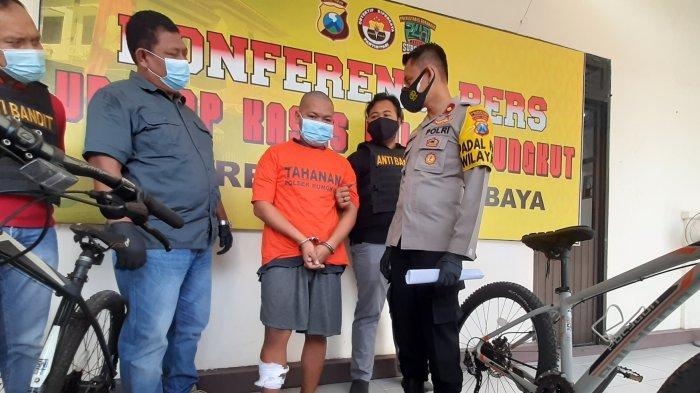 Residivis Tak Kapok Dipenjara, Maling Sepeda Angin di Surabaya Ngaku Terdesak Kebutuhan Hidup