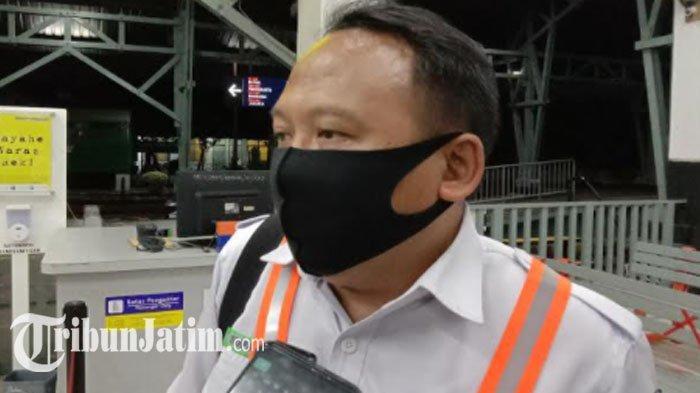 Rangkaian Gerbong Kereta Berjalan Sendiri Tanpa Lokomotif, Ini Tanggapan PT KAI Daop 8 Surabaya