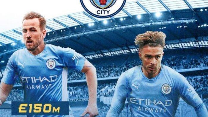 Manchester City mendapatkan Jack Grealish dan Harry Kane, Premier League 2021-2022 tidak perlu ada.