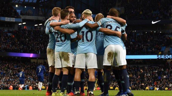 Manchester City Vs Chelsea, Cetak Setengah Lusin Gol, The Citizens Puncaki Klasemen