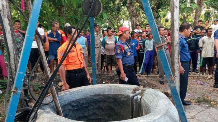 Mantan Kades di Bojonegoro Tewas Dalam Sumur Diduga Depresi, Tetangga Kaget Ada Mayat saat Menimba