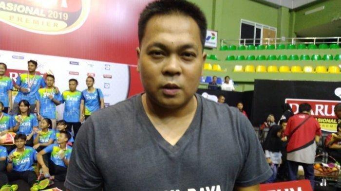 Mantan pebulu tangkis Indonesia yang pernah menjadi juara dunia, Markis Kido.