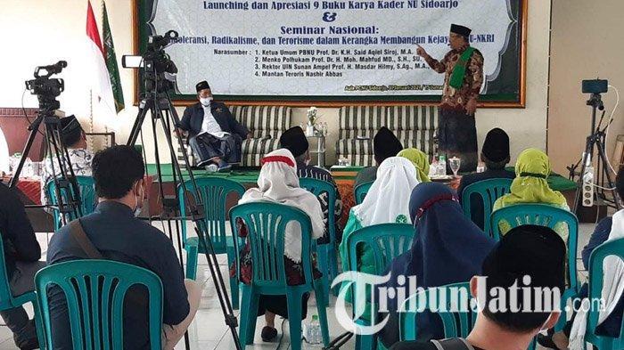 Harlah NU ke-95, Mantan Teroris Nasir Abbas Jadi Pembicara di PCNU Sidoarjo, Ceritakan Masa Lalunya