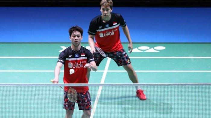 Marcus/Kevin Raih Gelar Juara China Open 2019 seusai Kalahkan Ahsan/Hendra