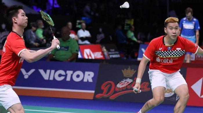Jadwal Semifinal Fuzhou China Open 2019, Marcus/Kevin Jadi Tumpuan Indonesia Memelihara Kans Juara