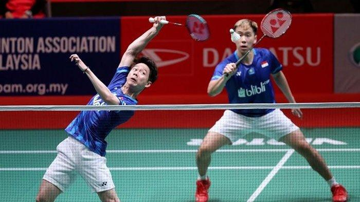 Hasil Drawing ALL England Open 2021 - Marcus/Kevin Hadapi Wakil Jerman