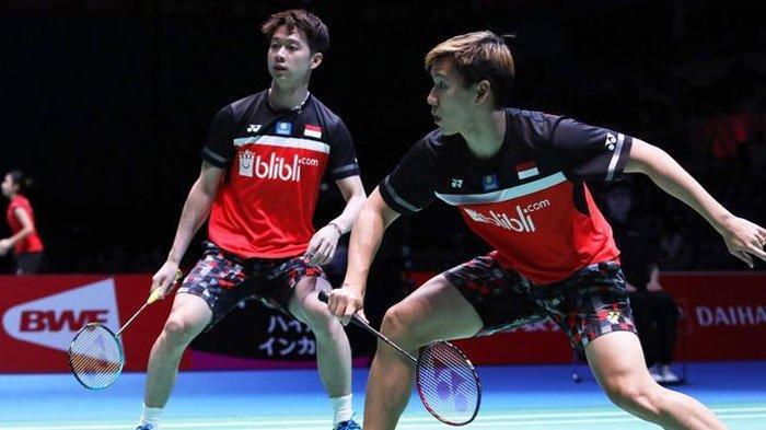 Marcus/Kevin Amankan Tiket Semifinal Japan Open 2019 seusai Tumbangkan Wakil Malaysia