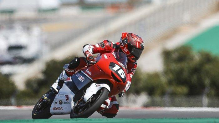 MPM Honda Dukung Pemuda Magetan Mario S Taklukan Sirkuit MotorLand Aragon Spanyol