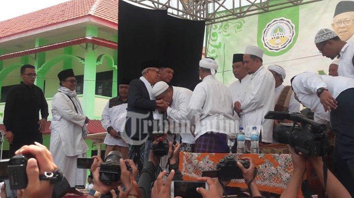 Kunjungi Sumenep, Maruf Amin: Orang Tidak Mondok Disebut Ulama, 'Alif Bengkok' Tak Tahu Jadi Ulama