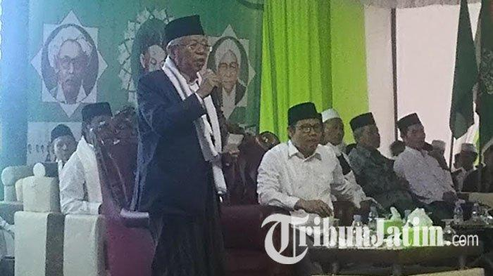 Rencana Kunjungi Jombang Besok, Wapres Maruf Amin Buka Acara Santri Digital Fest & Rakernas IPPNU