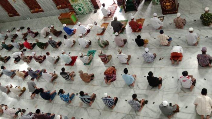 Masjid Agung Asy-Syuhada tetap gelar salat Tarawih saat Ramadan 2021