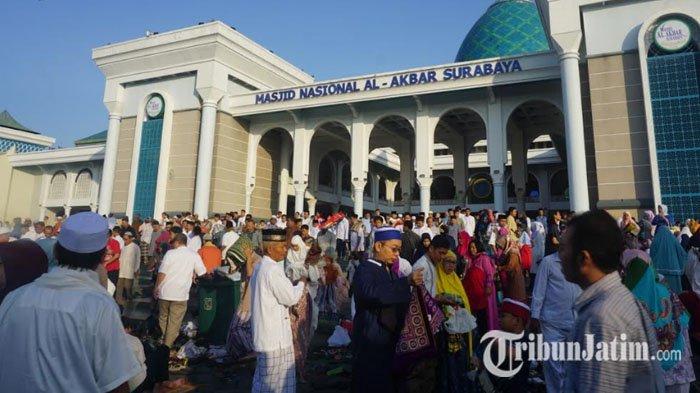 Masjid Al-Akbar Surabaya Siap Gelar Ibadah di Bulan Ramadhan, Tarawih Pakai Bacaan Surat Pendek