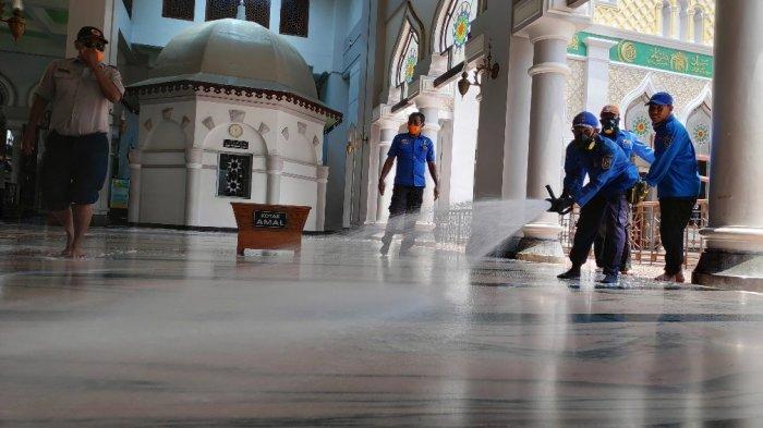 Pandemi Covid-19 Masih Terjadi, Masjid Agung Tuban Tiadakan Salat Idul Fitri