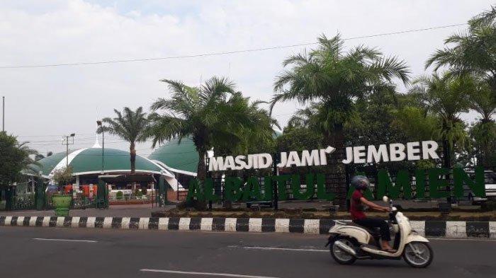 Masjid Jami' Al Baitul Amien Jember Siap Gelar Salat Id, Terbatas Hanya di Area Dalam Saja