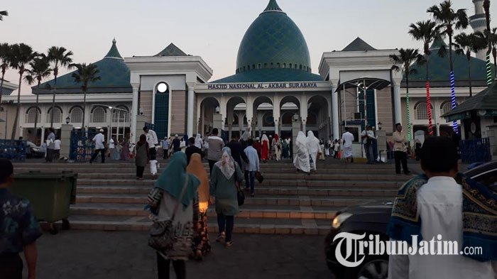 Nuzulul Quran, Masjid Al Akbar Gelar Doa Bersama untuk KRI Nanggala-402, Libatkan 500 Hafidz Quran