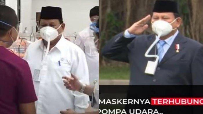 Terkuak Sudah Harga Asli Masker Berselang Prabowo, Heboh Disebut Ada Maksud Lain, Amankah Dipakai?
