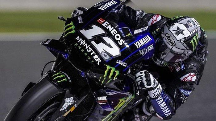 Tampil Kesetanan, Maverick Vinales Bukukan Waktu Tercepat pada Tes Tengah Musim MotoGP 2019