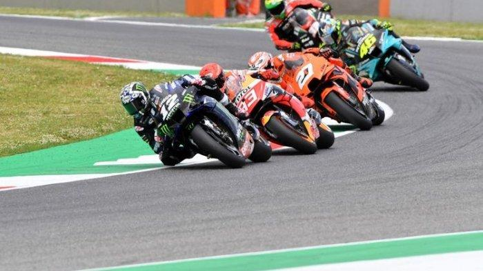 Hasil FP3 MotoGP Belanda 2021 - Vinales Berjaya, Rossi Lolos Q2