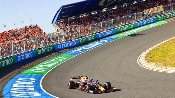Hasil F1 GP Belanda 2021 - Tampil Impressif, Max Verstappen Menang, Hamilton di Urutan Kedua