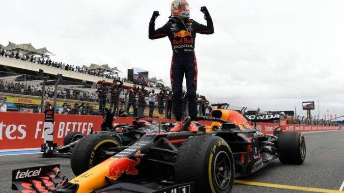 Hasil F1 GP Austria 2021 - Verstappen Menang, Hamilton Terlempar dari 3 Besar
