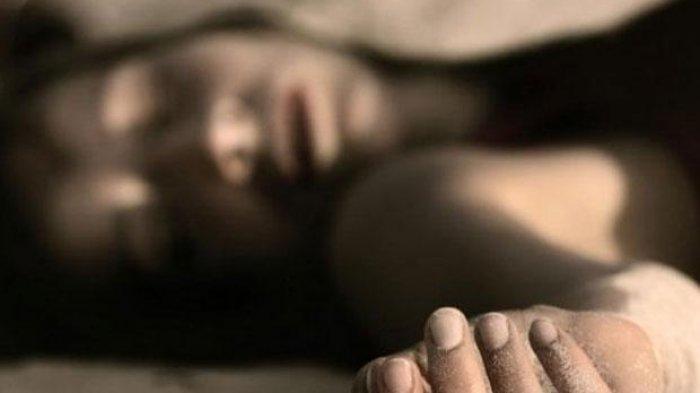 ilustrasi mayat wanita