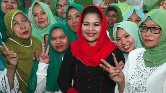 Tutup Kampanyenya di Kota Pasuruan, Mbak Puti Silaturahmi ke Rumah Pengasuh Ponpes Nurul Islam