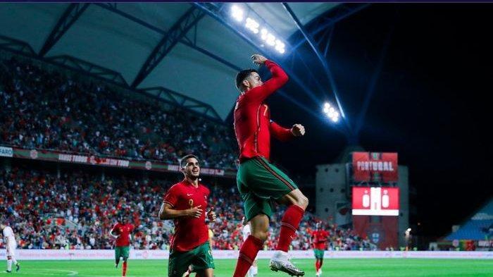 Gacor Bersama Portugal, Cristiano Ronaldo Masuk Buku Sejarah Dunia Sepak Bola Internasional