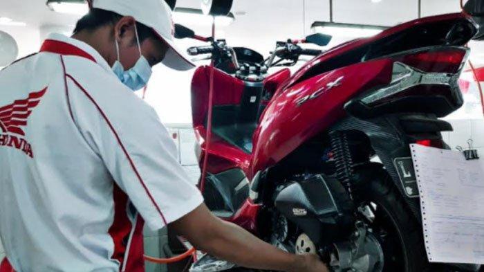MPM Honda Sebut Ban Motor yang Cocok Dipakai Saat Musim Hujan Adalah Tipe Jenis Basah