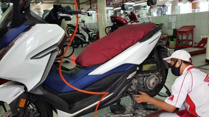 Cara Merawat V-belt Skuter Matik Agar Tetap Awet Ala MPM Honda Jatim, 'Putar Tuas Gas Secara Normal'