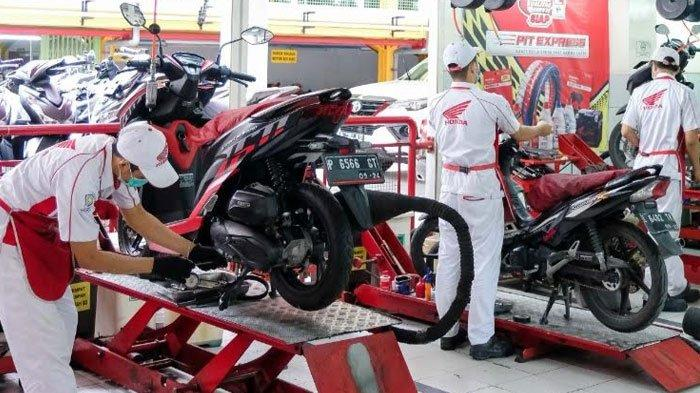 MPM Honda Jatim Beri Layanan Service Motor Special Bagi Pahlawan Kesehatan, Bisa Gratis Jemput Antar