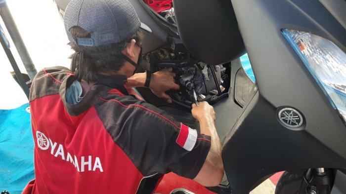 Spesial Untuk Gojek di Surabaya Raya, Yamaha Jatim Beri Promo Service