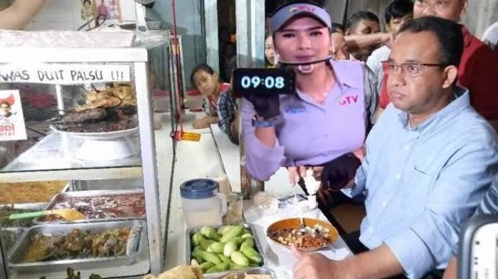 VIRAL Meme Anies Baswedan Makan di Warteg, Imbas Aturan Baru PPKM Level 4 'Makan di Tempat 20 Menit'