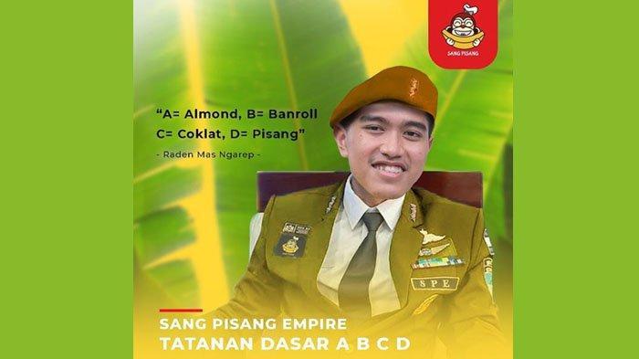 Promosi Sang Pisang, Kaesang Unggah Meme Kocak Pakai Seragam dan Baret, Disebut Mirip Sunda Empire